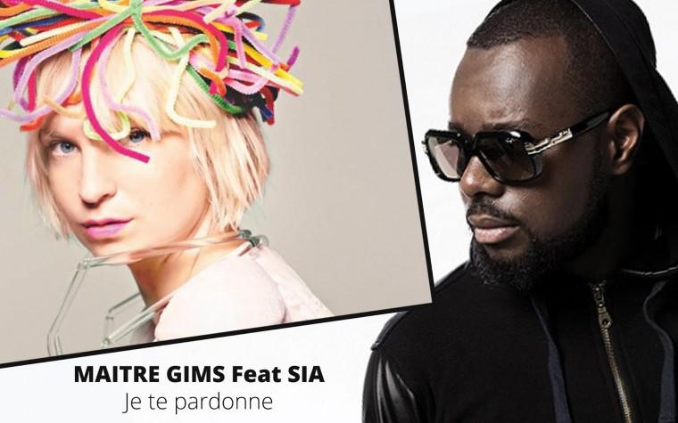 Maître Gims et Sia en featuring dans un clip futuriste