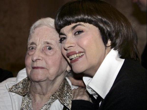 Mireille Mathieu a perdu sa mère